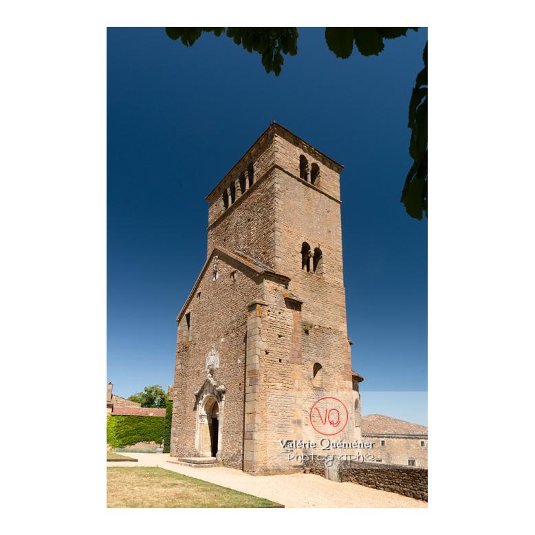 Restes de l'église du château de Pierreclos / Saône-et-Loire / Bourgogne-Franche-Comté - Réf : VQFR71-3175 (Q3)