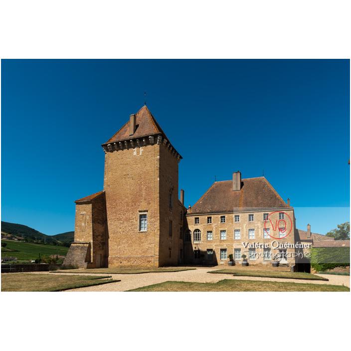 Château de Pierreclos / Saône-et-Loire / Bourgogne-Franche-Comté - Réf : VQFR71-3176 (Q3)