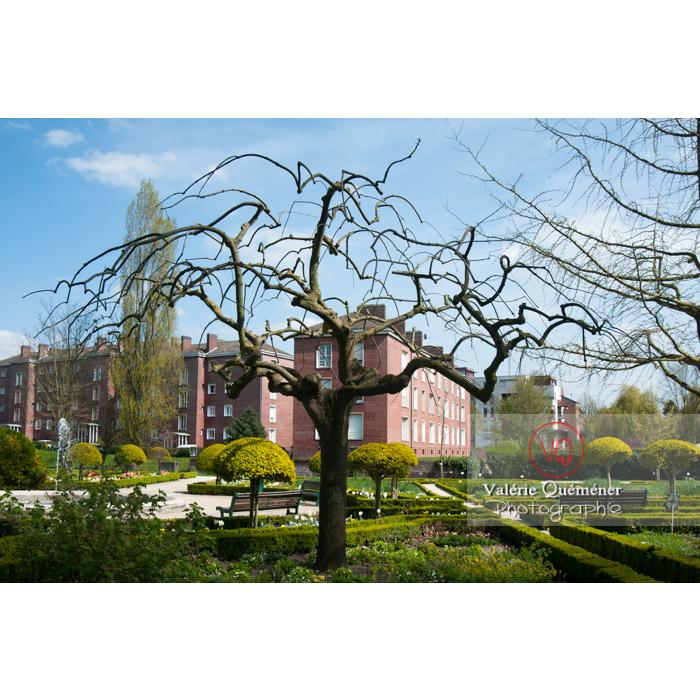 Jardin des plantes, Amiens / Somme / Hauts-de-France - Réf : VQFR80-0011 (Q2)