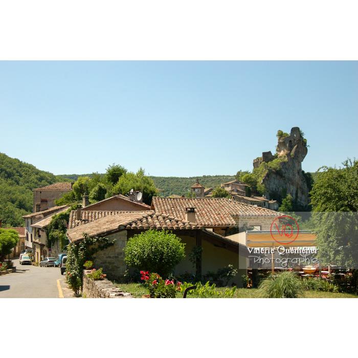 Village de Penne et son château / Tarn / Occitanie - Réf : VQFR81-0201 (Q1)