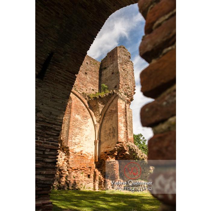 Ruines du château de Saint-Sulpice-la-Pointe / Tarn / Occitanie - Réf : VQFR81-0268 (Q3)