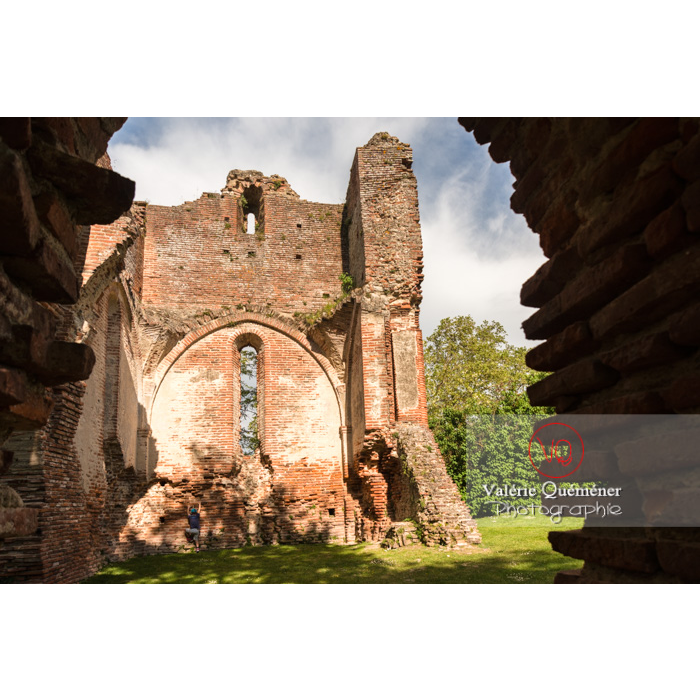 Ruines du château de Saint-Sulpice-la-Pointe en forme de croix / Tarn / Occitanie - Réf : VQFR81-0270 (Q3)