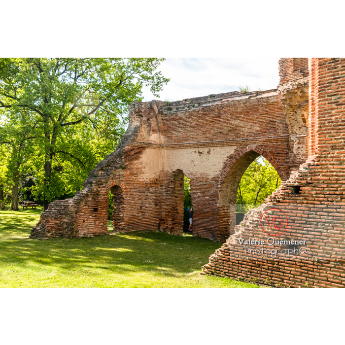 Ruines du château de Saint-Sulpice-la-Pointe / Tarn / Occitanie - Réf : VQFR81-0272 (Q3)