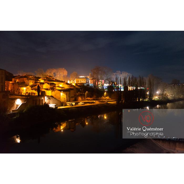 Village de Gaillac de nuit / Tarn / Occitanie - Réf : VQFR81-0738 (Q3)