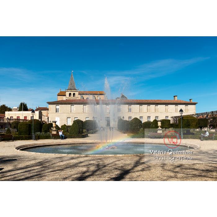Jardin de l'Évêché de Castres / Tarn / Occitanie - Réf : VQFR81-0741 (Q3)
