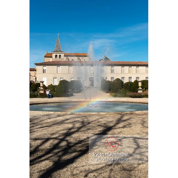 Jardin de l'Évêché de Castres / Tarn / Occitanie - Réf : VQFR81-0742 (Q3)