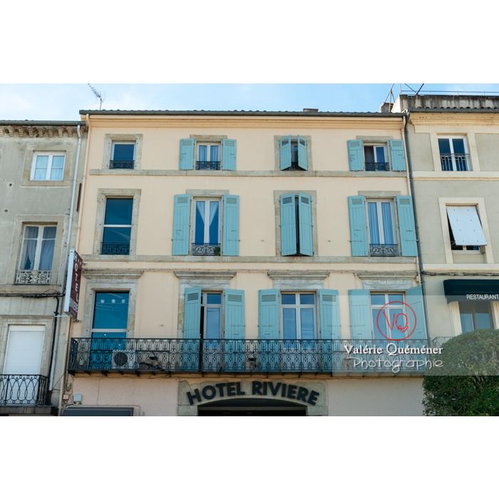 Façade d'hôtel à Castres / Tarn / Occitanie - Réf : VQFR81-0751 (Q3)