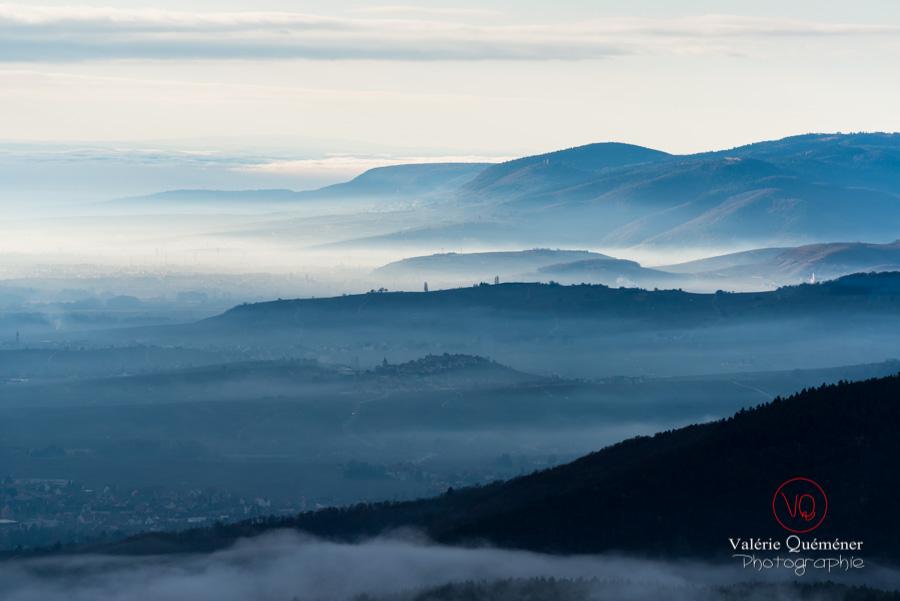 Panorama sur les Vosges depuis le château du Haut-Koenigsbourg | © Valérie Quéméner - Réf : VQFR67-0028