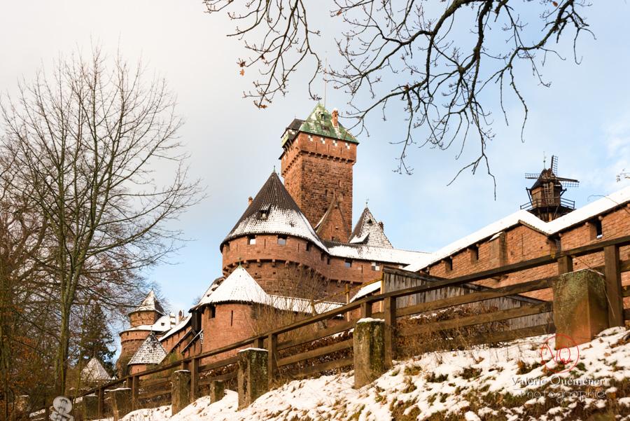 Château du Haut-Koenigsbourg sous la neige | © Valérie Quéméner - Réf : VQFR67-0031