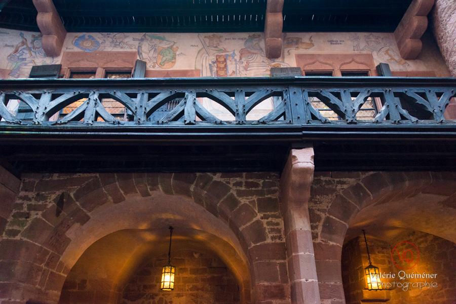 Galerie du logis au Château du Haut-Koenigsbourg | © Valérie Quéméner - Réf : VQFR67-0083
