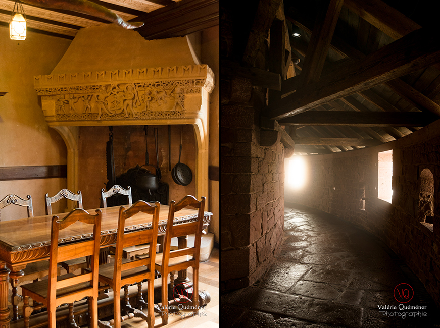 Salle Lorraine et grand bastion au château du Haut-Koenigsbourg | © Valérie Quéméner - Réf : VQFR67-0116-0158