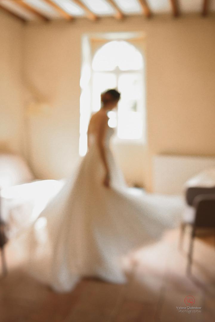 © Valérie Quéméner I Silhouette de la mariée