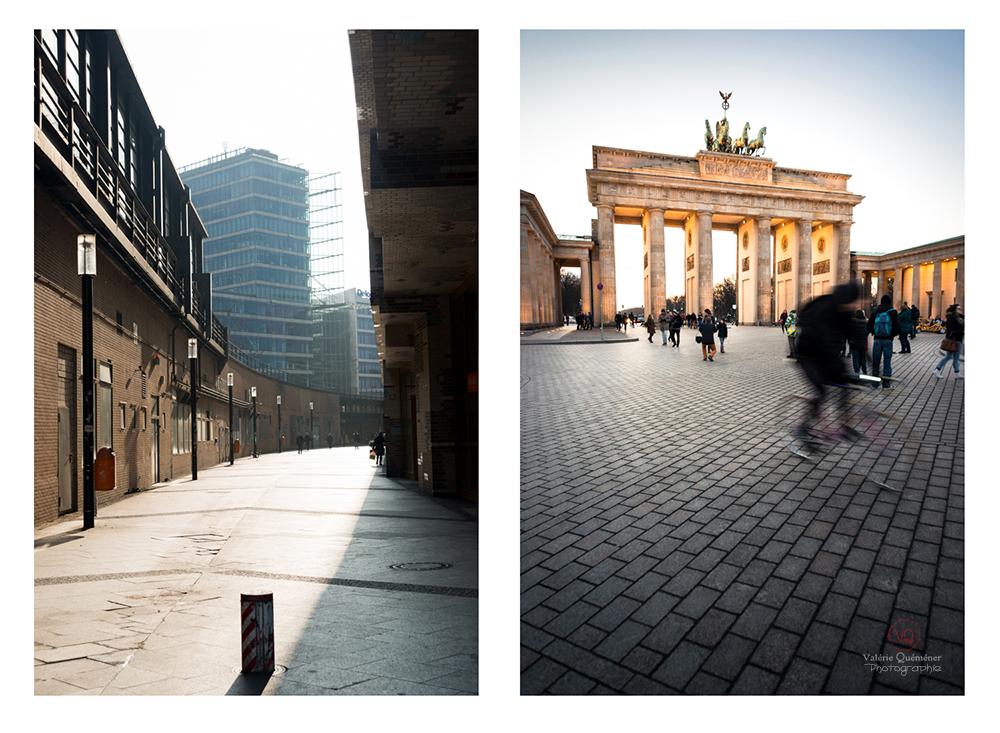 © Valérie Quéméner - Rue de Berlin et porte de Brandebourg / Réf : VQALL_BL-0024-0131