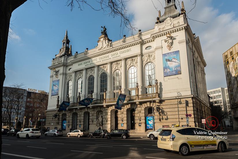 © Valérie Quéméner - Théâtre des Westens, quartier Charlottenburg à Berlin / Réf : VQALL_BL-0027