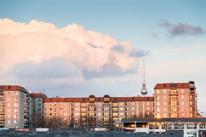 © Valérie Quéméner - Berlin, vue sur la tour de la télévision / Réf : VQALL_BL-0114
