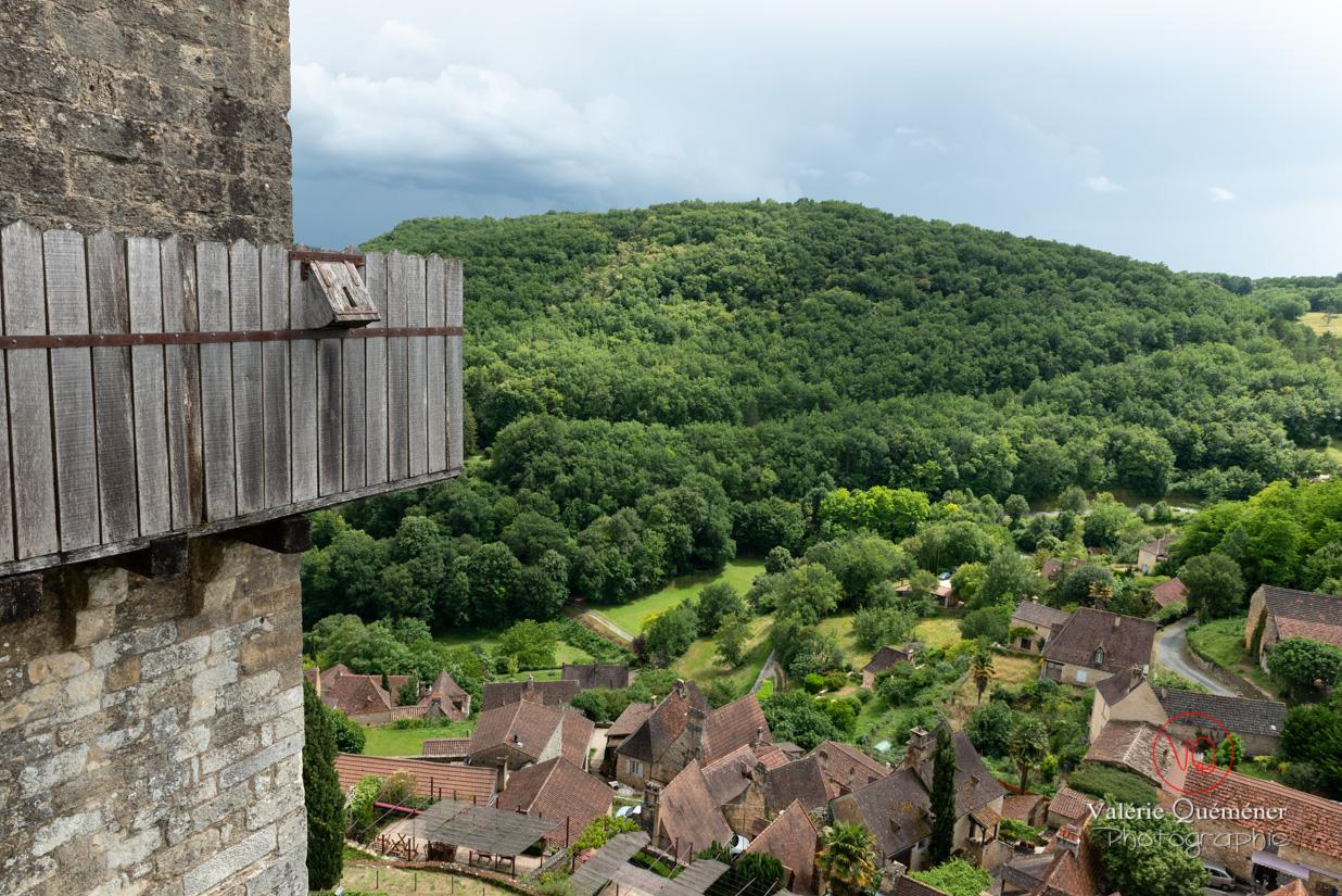 Vue sur le village depuis le château de Castelnaud-la-Chapelle | © Valérie Quéméner - Réf : VQFR24-0503