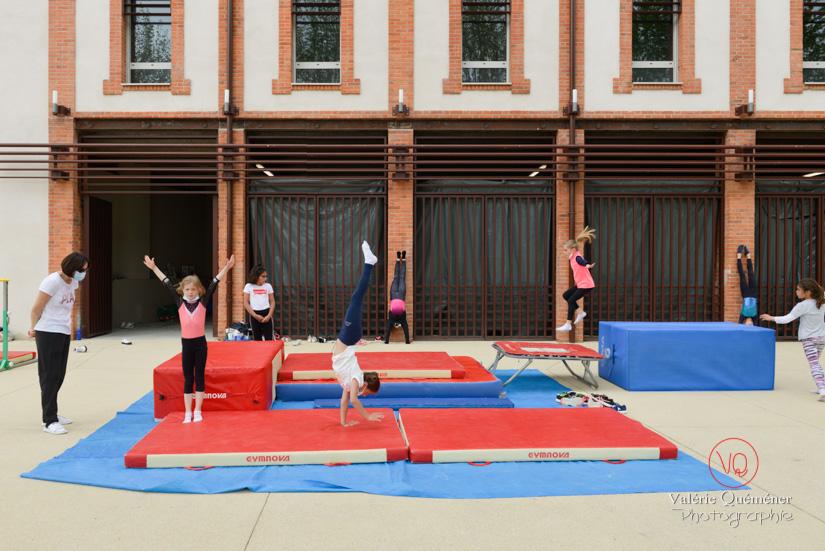 Séance de gym en extérieur, Digoin | © Valérie Quéméner - Réf : VQST-4566