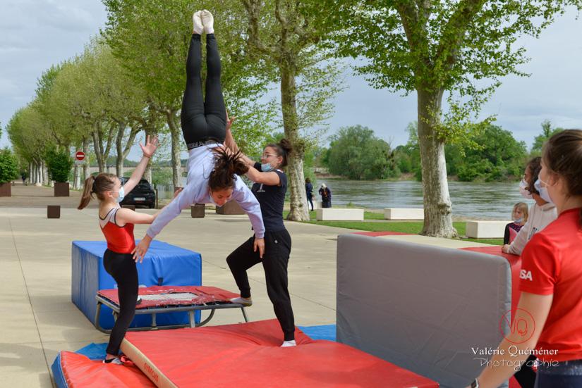 Séance de gym en extérieur, Digoin | © Valérie Quéméner - Réf : VQST-4605