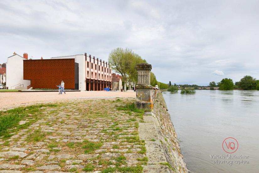 Haut niveau de la Loire à Digoin | © Valérie Quéméner - Réf : VQST71-5325