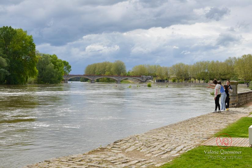 Haut niveau de la Loire à Digoin | © Valérie Quéméner - Réf : VQST71-5333