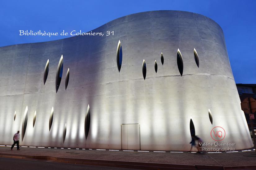 Bibliothèque de Colomiers . Photo © Valérie Quéméner
