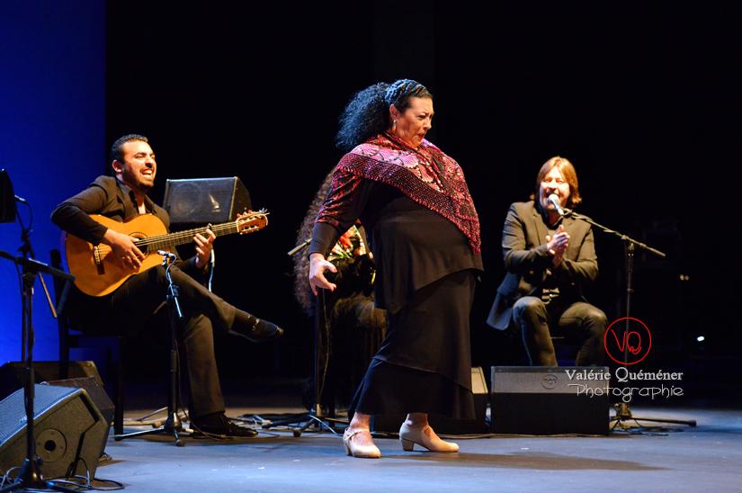 Concha Vargas - Festival ibérique 2014 à Colomiers (Haute-Garonne) | © Valérie Quéméner