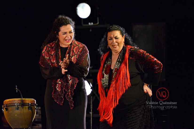 Carmen Vargas & Concha Vargas - Festival ibérique 2014 à Colomiers (Haute-Garonne) | © Valérie Quéméner