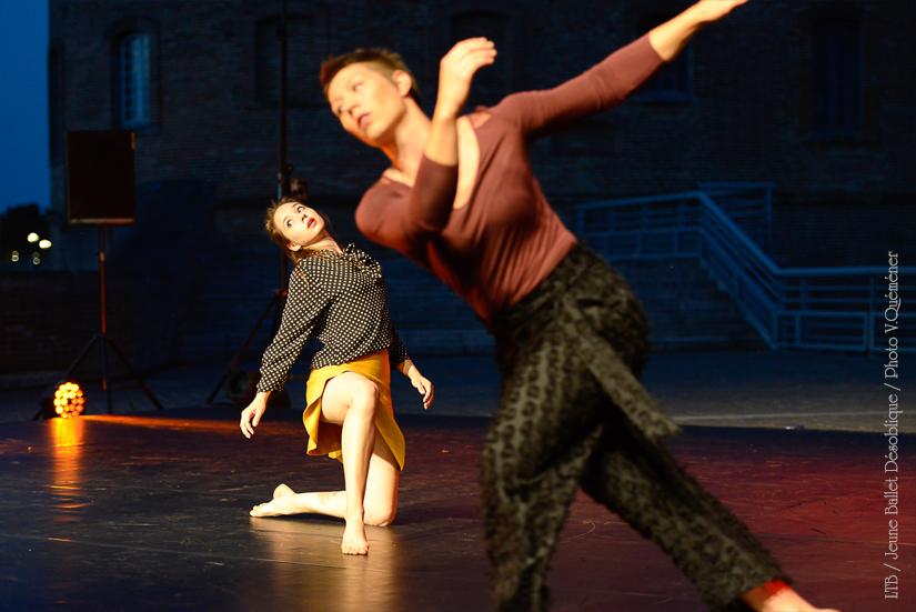 Jeune Ballet Désoblique à Ravensare #17 . Photo © Valérie Quéméner