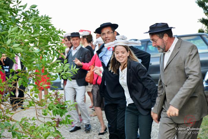 Mariage au domaine d'Alcapiès en Aveyron . Photo © Valérie Quéméner