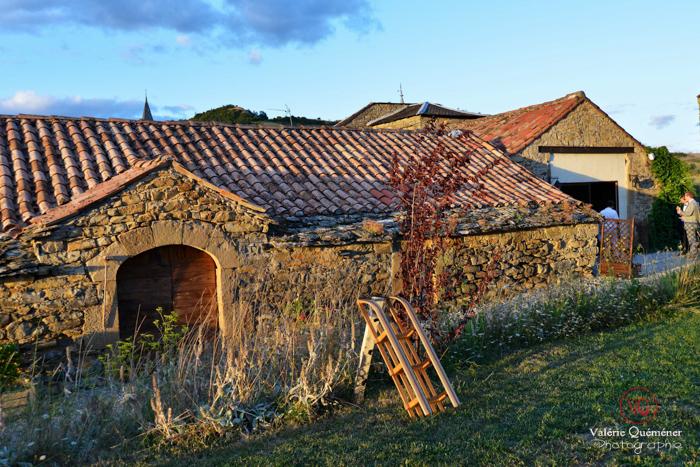 Domaine d'Alcapiès en Aveyron . Photo © Valérie Quéméner