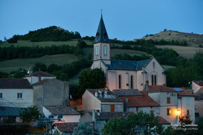 Village d'Alcapiès en Aveyron . Photo © Valérie Quéméner