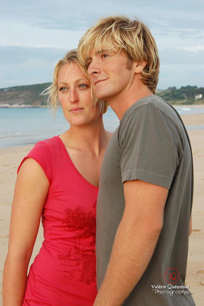 Photo de couple à la plage | Photo © Valérie Quéméner