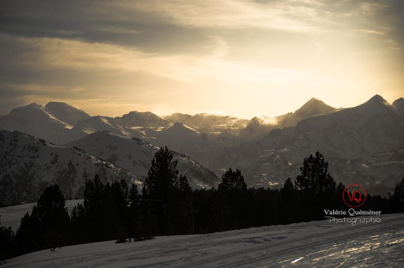 Chaîne des Pyrénées depuis le plateau de Beille | © Valérie Quéméner