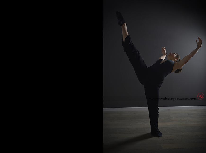 © Valérie Quéméner - Portrait de danse de Manon